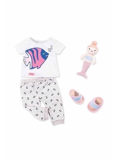 Our Generation Our Generation Deniz Temalı Oyuncak Bebek Kıyafeti Pijama Seti Renkli